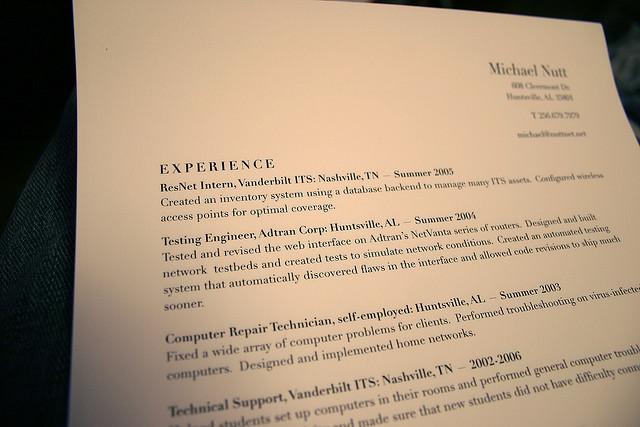 How to De-Clutter Your Resume | Spectrum Brands Careers Blog