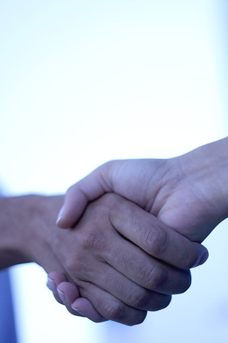Job Interview - does Handshake really matter?